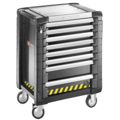JET+ 8-Drawer roller cabinets safety range