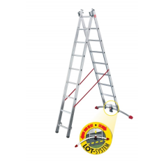 Multi-purpose ladder, 2-section