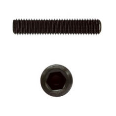 Hexagon socket set screws with flat point DIN 913