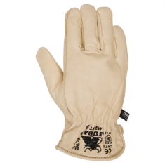 H412FT Leather Glove lined