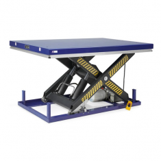 Electric lift table single scissor