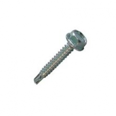 Self-drilling screw with reduced drill point DIN 7504-K RE