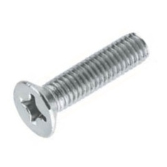 Countersunk head screws with phillips cross DIN 965