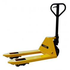 Short and wide fork hand pallet truck 2500kgs.